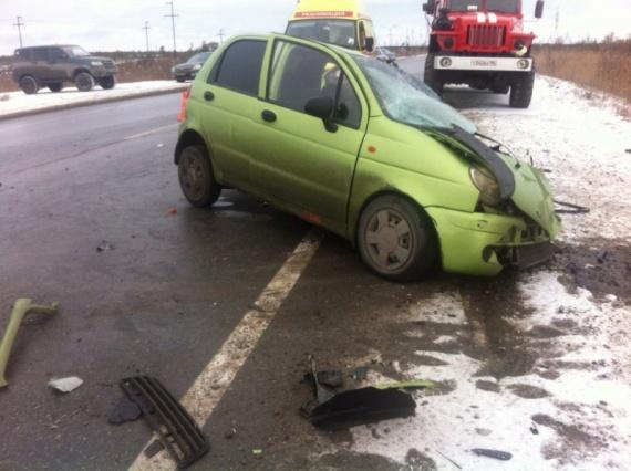 ВСургутском районе вДТП умер человек