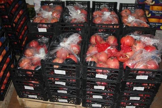 У бизнесмена изСургута изъяли около 2-х тонн «санкционных» овощей ифруктов