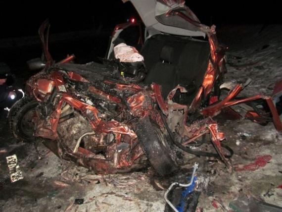 ВСоветском районе вДТП умер шофёр «Лады»
