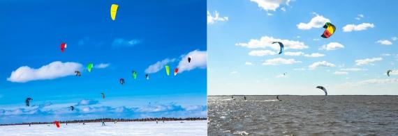 Анастасия Якупова: В Сургуте развивается новый вид спорта — кайтинг. И это зрелищная штука // ФОТО, ВИДЕО