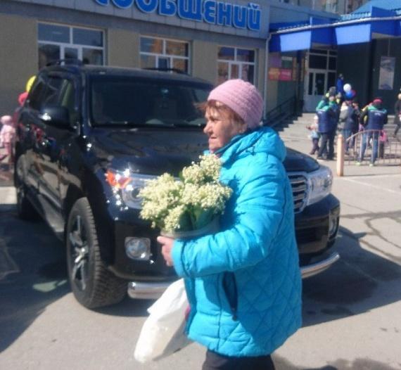 Первомай в Сургуте: мороз, и солнце, и цветы