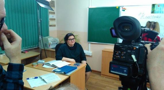 Алина Горошко: «Снимали в библиотеке, институте и в какой-то квартире!»