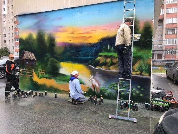 Ольга Сидорова, куратор проекта «Музей под открытым небом»: Хотите, чтобы серая и невзрачная стена возле вашего дома стала новым арт-объектом? Пишите нам
