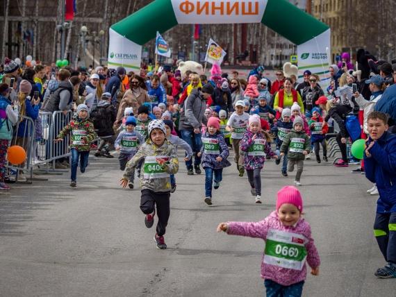 Югра приняла участие в Зелёном марафоне «Бегущие сердца»