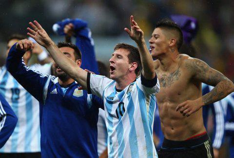 Сборная Аргентины по футболу, Сборная Германии по футболу