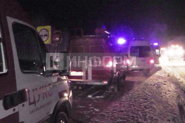 4 человека погибли вДТП натрассе Тюмень— Ханты-Мансийск