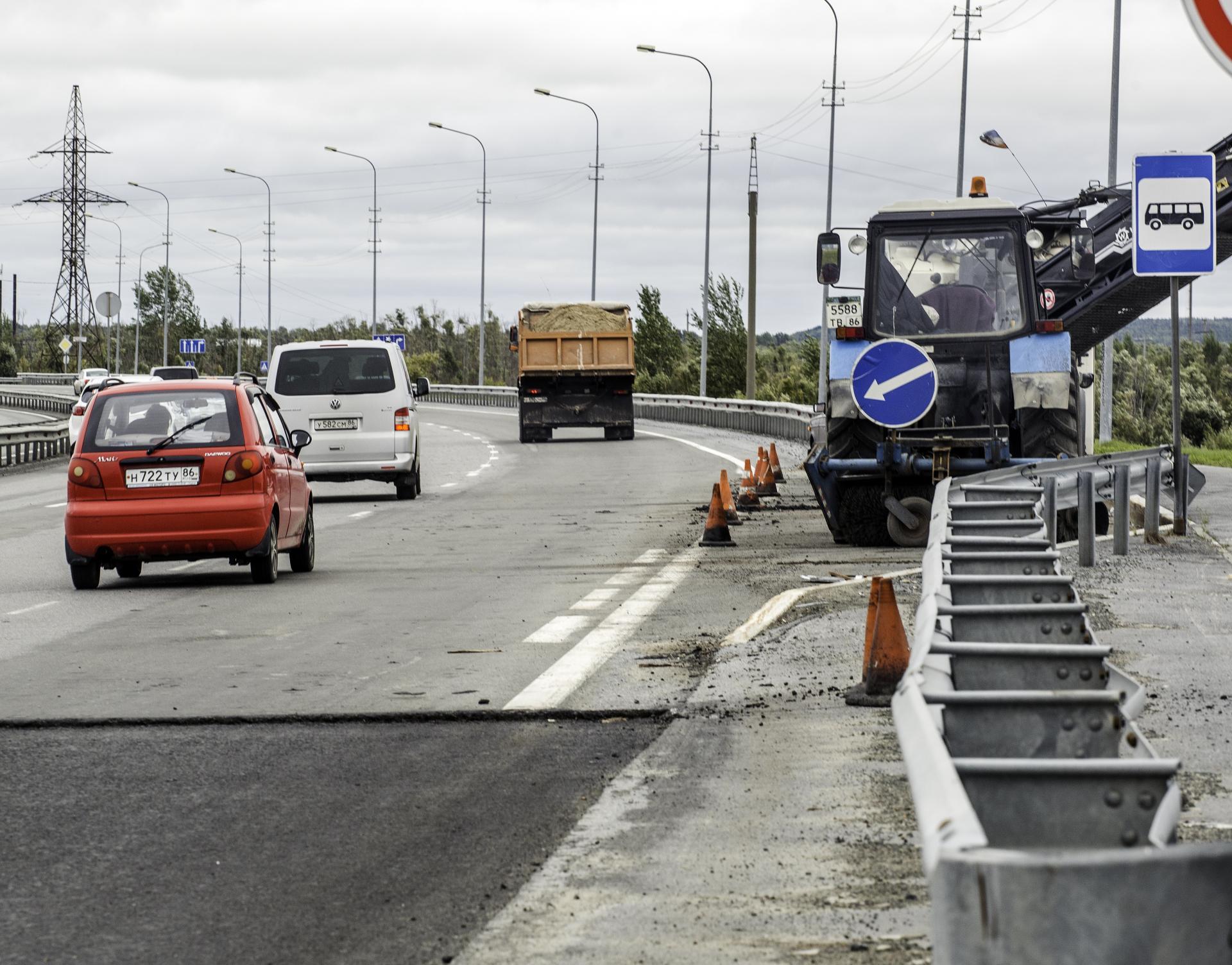 В Сургутском районе планируется масштабный ремонт и строительство транспортных сетей