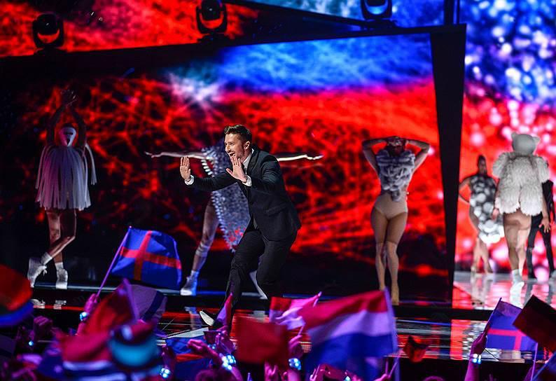Сергей Лазарев занял вфинале «Евровидения» 3-е место